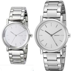 DKNY Silver Stainless Steel Watch
